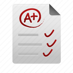 document, documents, file, files, page, paper, test icon
