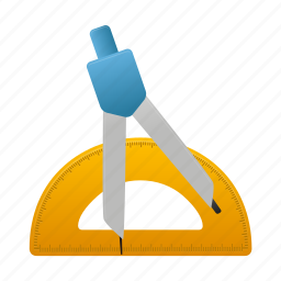education, learn, math, measure, study, tool, tools icon
