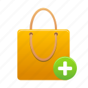 add, bag, business, buy, ecommerce, item, shopping icon
