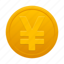 cash, coin, currency, dollar, money, payment, yuan icon