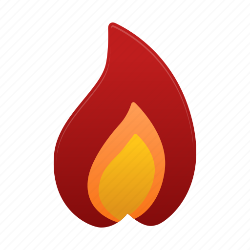 flame, flames, hot, weather icon
