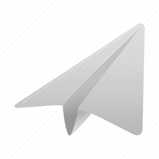 Paper, plane, airplane, email, mail, message, send icon - Download on Iconfinder