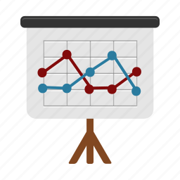 analysis, analytics, chart, data, presentation, report, statistics icon
