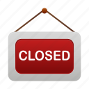 closed, shop, ecommerce, shopping, store icon