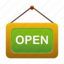 commerce, ecommerce, open, shop, shopping, store icon