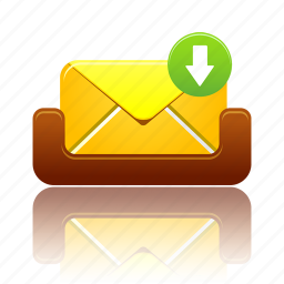 mailbox, message, receive icon