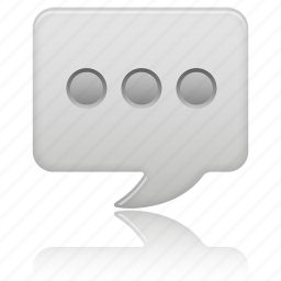 message, text icon