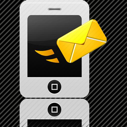 message, send icon