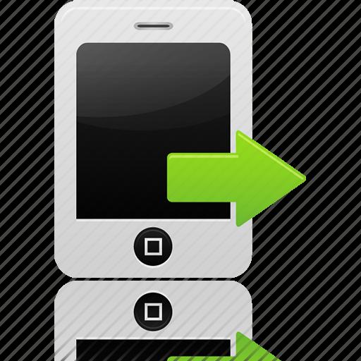 calls, sent icon