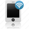 phone, wifi icon