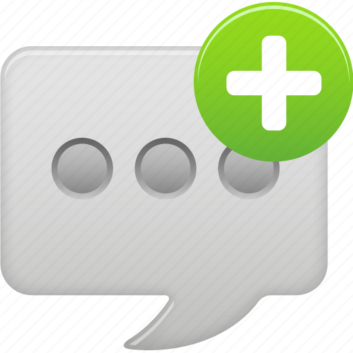 message, new, text icon
