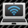 laptop, wifi icon