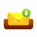 mailbox, message, receive, email, inbox, letter, mail
