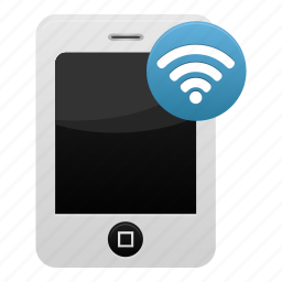 mobile, phone, signal, smartphone, telephone, wifi, wireless icon