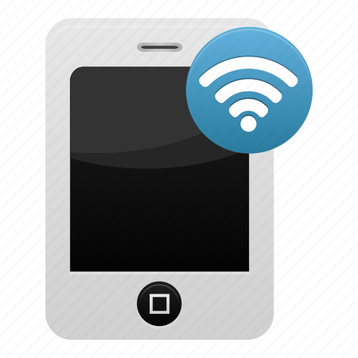 mobile, phone, signal, smartphone, telephone, wifi, wireless icon