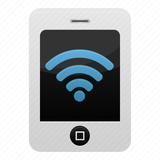 iphone, mobile, network, phone, smartphone, wifi, wireless icon