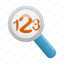 find, glass, magnifier, magnifying, search, view, zoom icon