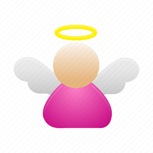 angel, fairy, magic icon