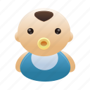 avatar, baby, boy, child, kid, person icon