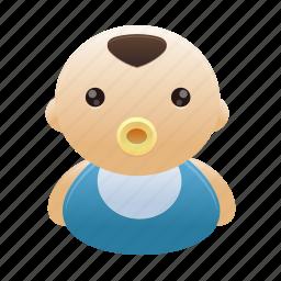 avatar, baby, boy, child, kid, person icon