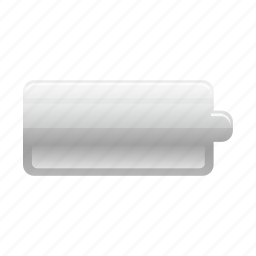 battery, charge, electric, electricity, empty, energy, power icon