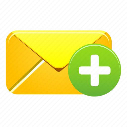 add, email, envelope, mail, message, new, plus icon