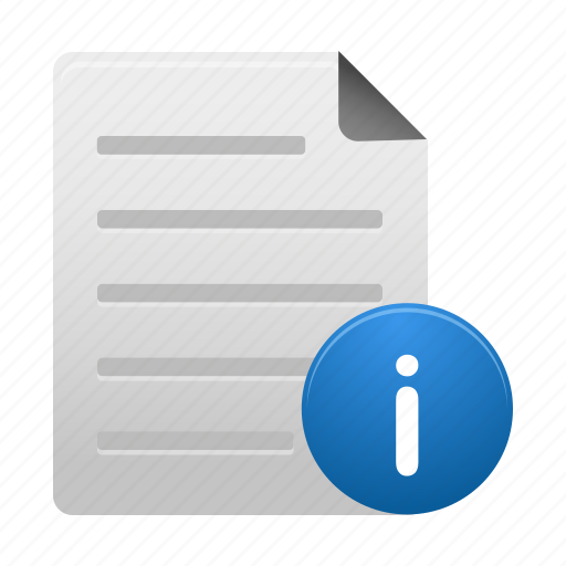 document, documents, file, info, page, paper, text icon