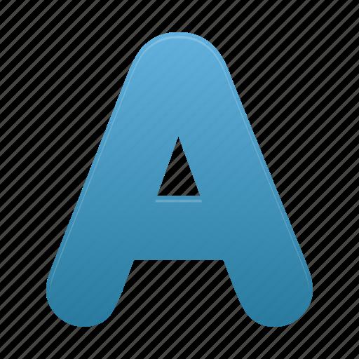 alphabet, font, letter icon