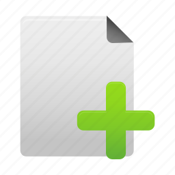 add, document, file, files, new, page, paper icon