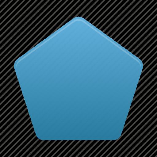 design, pentagon, shape, tool, tools icon