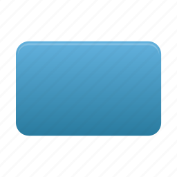 rectangle, rounded icon