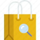 business, buy, ecommerce, search, shop, shopping icon