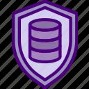 database, hosting, protection, seo, storage, web icon