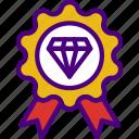 badge, hosting, seo, storage, web icon