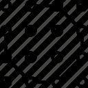 artboard, creative, design, hexagonal, layout, pattern icon