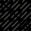artboard, creative, design, layout, pattern, square icon