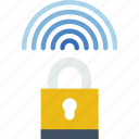 lock, network, protection, security, virus, web icon