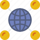 network, protection, security, virus, web icon
