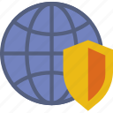 protection, security, virus, web icon