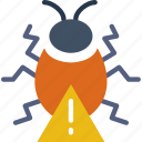 bug, protection, security, virus, web icon