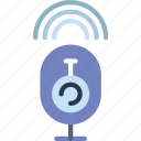protection, security, virus, web, webcam icon