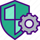 antivirus, protection, security, settings, virus, web icon