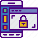 phone, protection, security, virus, web icon