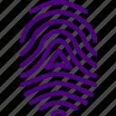 fingerprint, protection, security, virus, web
