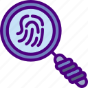 fingerprint, protection, search, security, virus, web