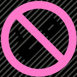 block, no smoke, no smoking, prevent, smoke, stop icon