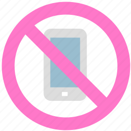 block, phone, prevent, stop icon