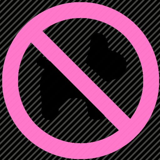 block, pets, prevent, stop icon