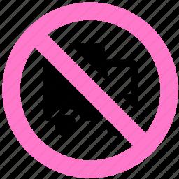 block, no truck, prevent, stop icon