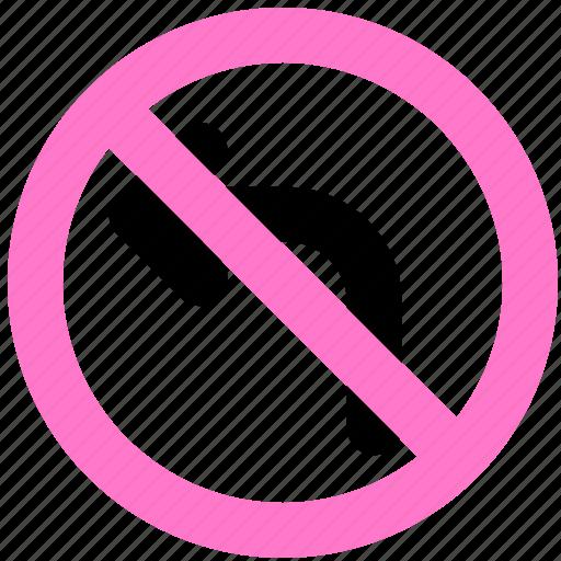 block, direction, prevent, stop icon